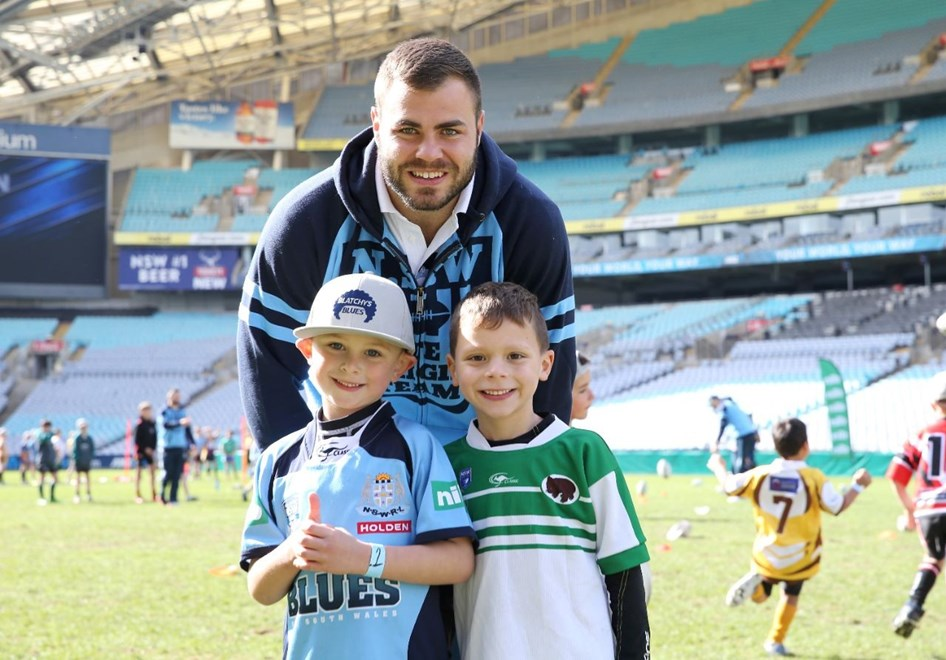 NSW Team Announcment, at ANZ Stadium Monday the 4th 2016.