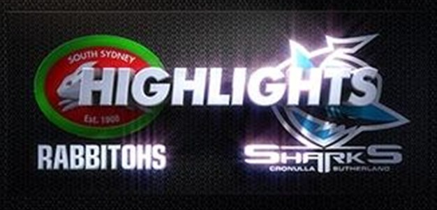 Sharks v Rabbitohs Rd 2 (Highlights)