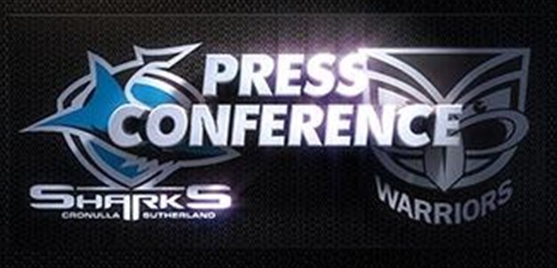 Sharks v Warriors Rd 3 (Press Conference)