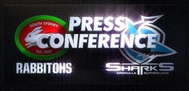 Sharks v Rabbitohs Rd 2 (Press Conference)