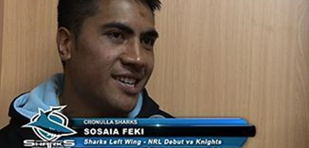 Sosaia Feki Interview