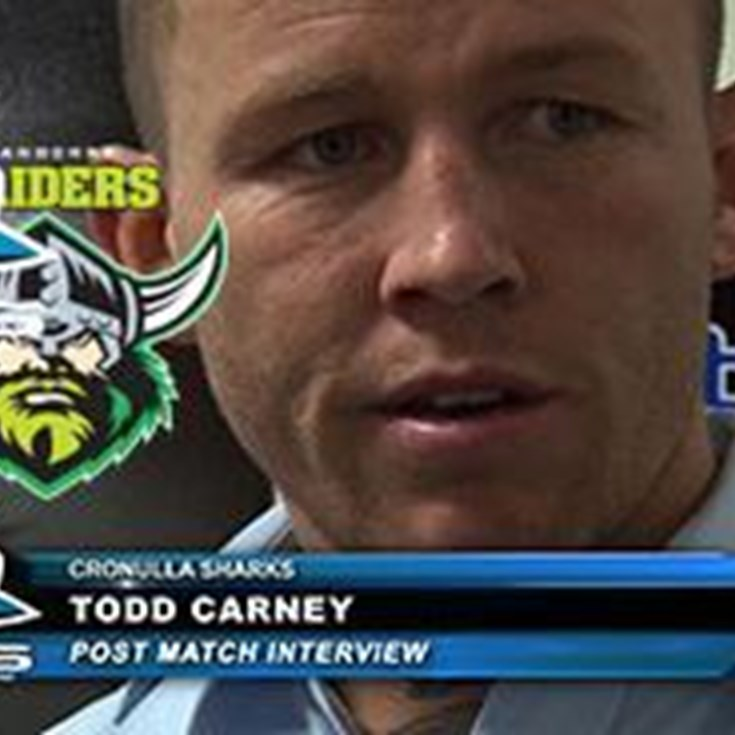 Carney Post-Match vs Raiders