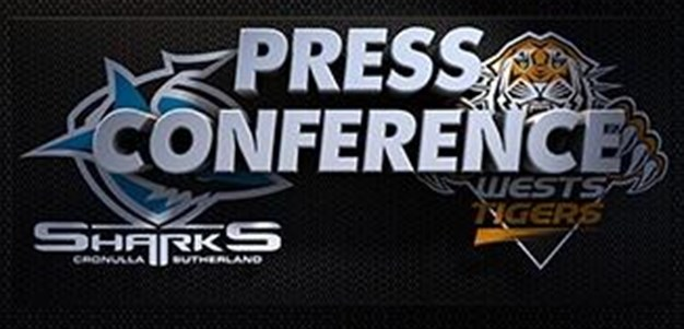Sharks v Tigers Rd 17 (Press Conference)