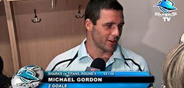 Post Match with Michael Gordon