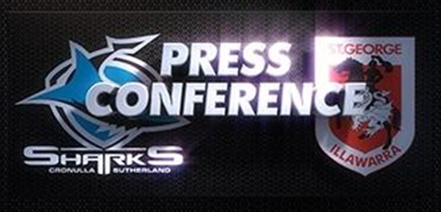 Sharks v Dragons Rd 4 (Press Conference)
