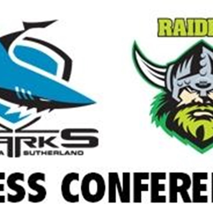 Sharks v Raiders Rd 10 (Press Conference)