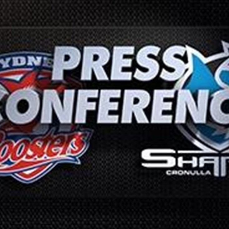 Sharks v Roosters Rd 19 (Press Conference)