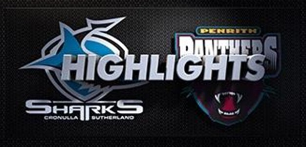 Sharks v Panthers Rd 20 (Highlights)