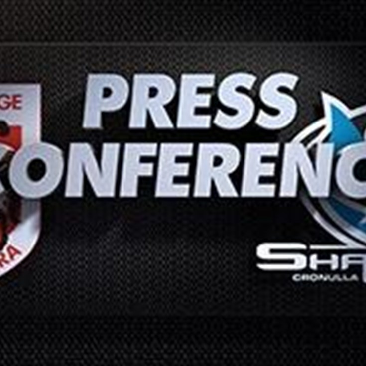 Sharks v Dragons Rd 23 (Press Conference)