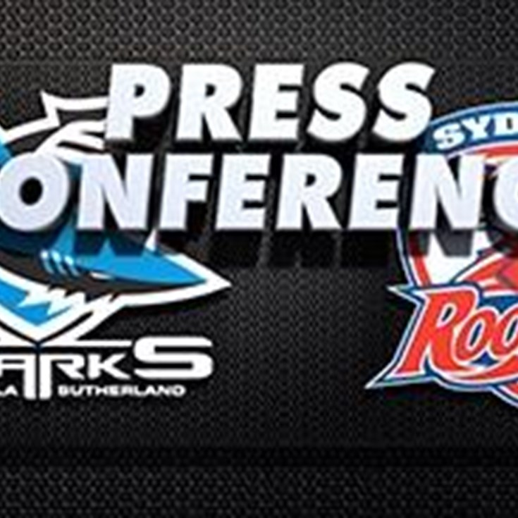 Sharks v Roosters Rd 24 (Press Conference)