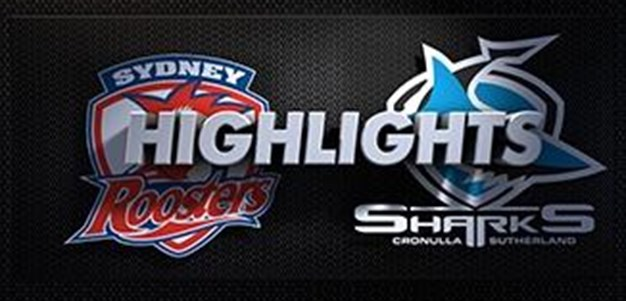Sharks v Roosters Rd 19 (Highlights)