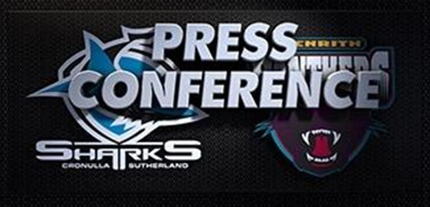 Sharks v Panthers Rd 20 (Press Conference)