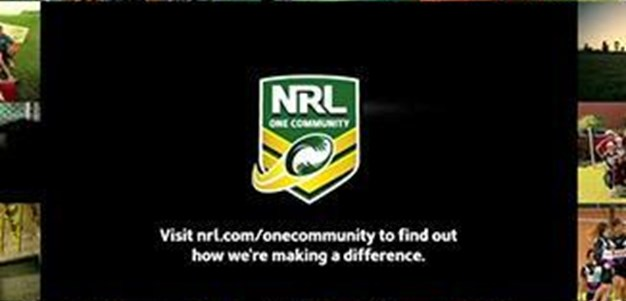 New NRL One Community TV commercial