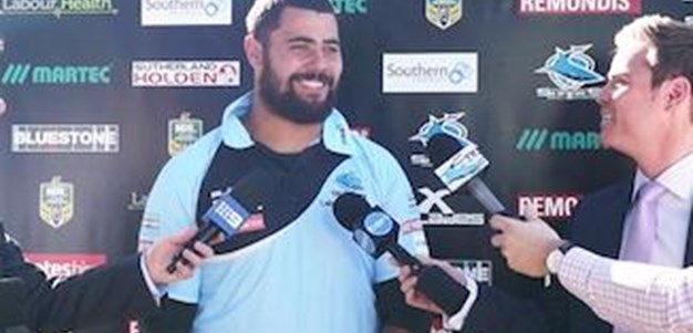 PRESSER | David Fifita talks Raiders