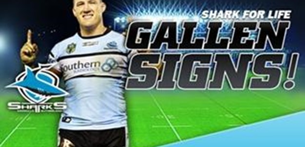 Paul Gallen Re-signs