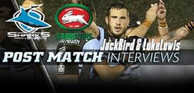 Post-Match Interview: Jack Bird & Luke Lewis