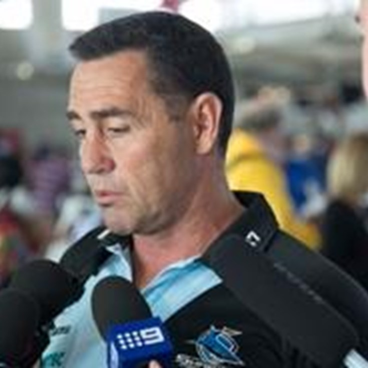 RND10 Sharks Media Conference - Shane Flanagan