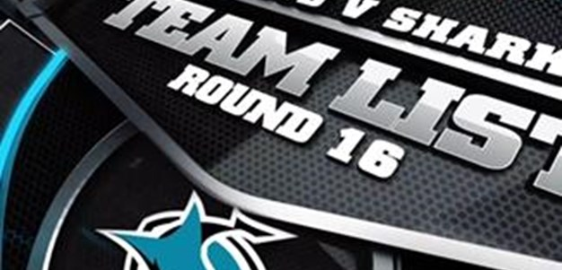 Sharks Rd 16 Team List