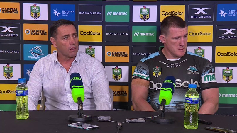 Sharks press conference - Round 19