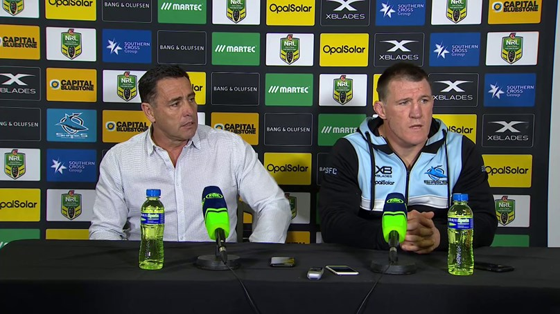 Sharks press conference – Round 23, 2018
