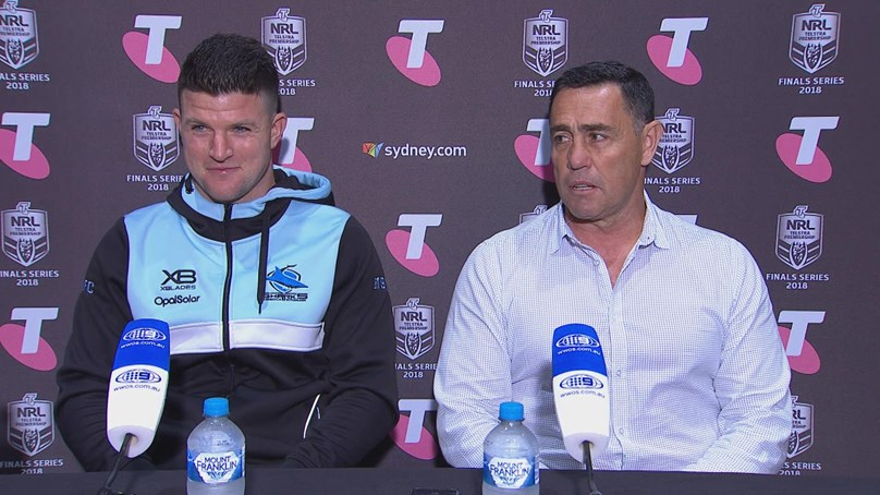 Sharks press conference - Semi-Final