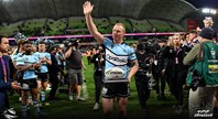 Luke Lewis farewells the NRL