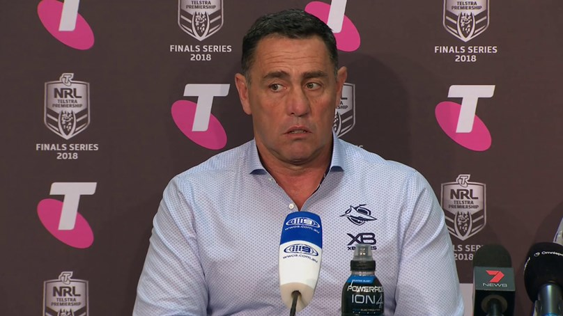 Sharks press conference - Preliminary Final