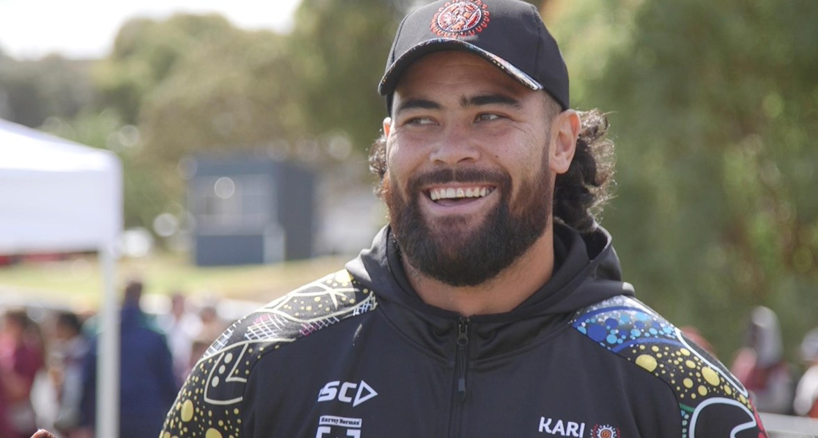 Fifita: I'm proud of both my cultures