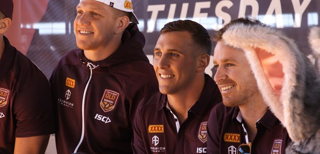 Capewell goes home with the QLD Maroons