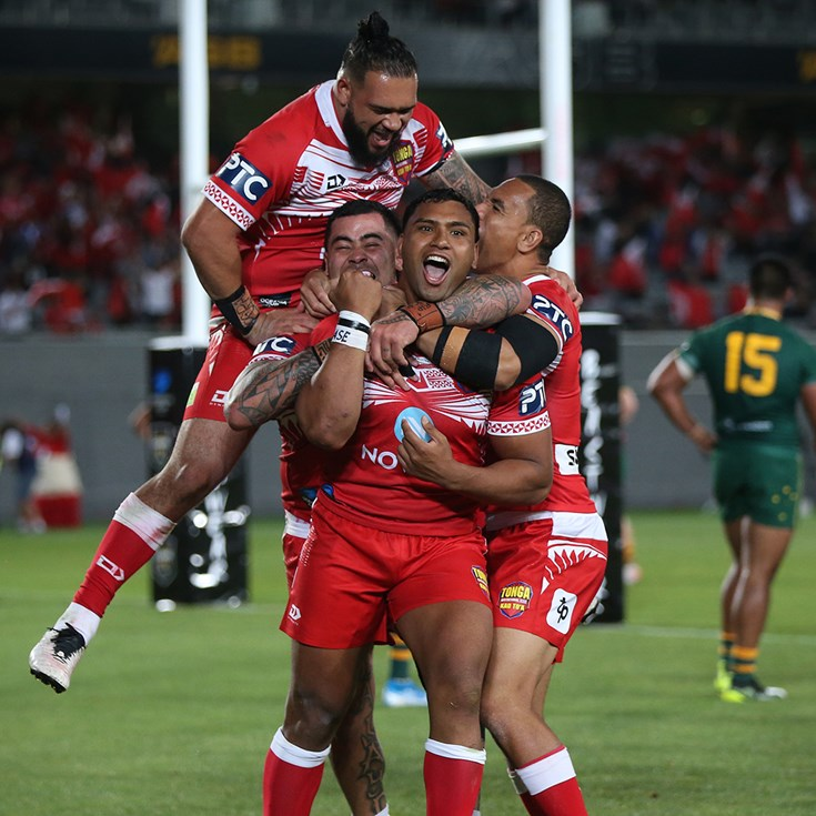 Match Highlights: Tonga v Australia