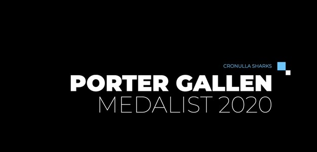 Porter Gallen Medalist - Shaun Johnson