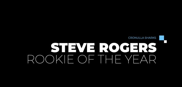 Steve Rogers Rookie of the Year - Toby Rudolf