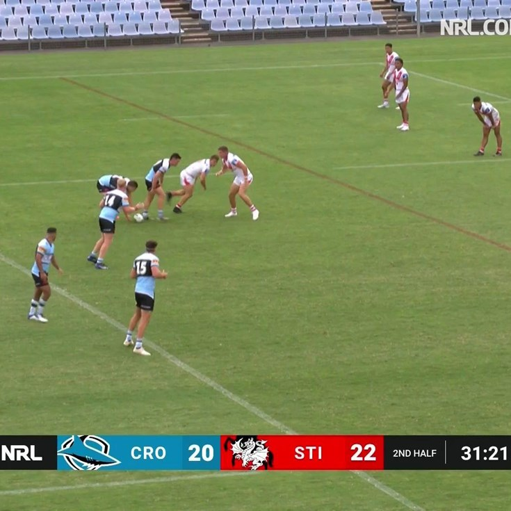 Unselfish Hamlin hands a try to Trindall