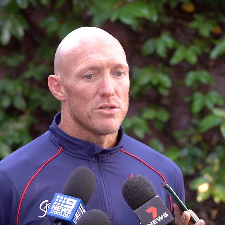 Craig Fitzgibbon Press Conference