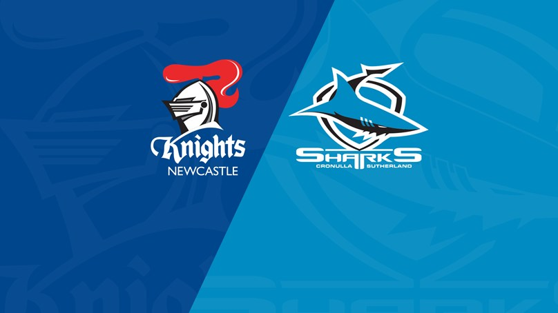 Sharks v Knights - Trial Match replay