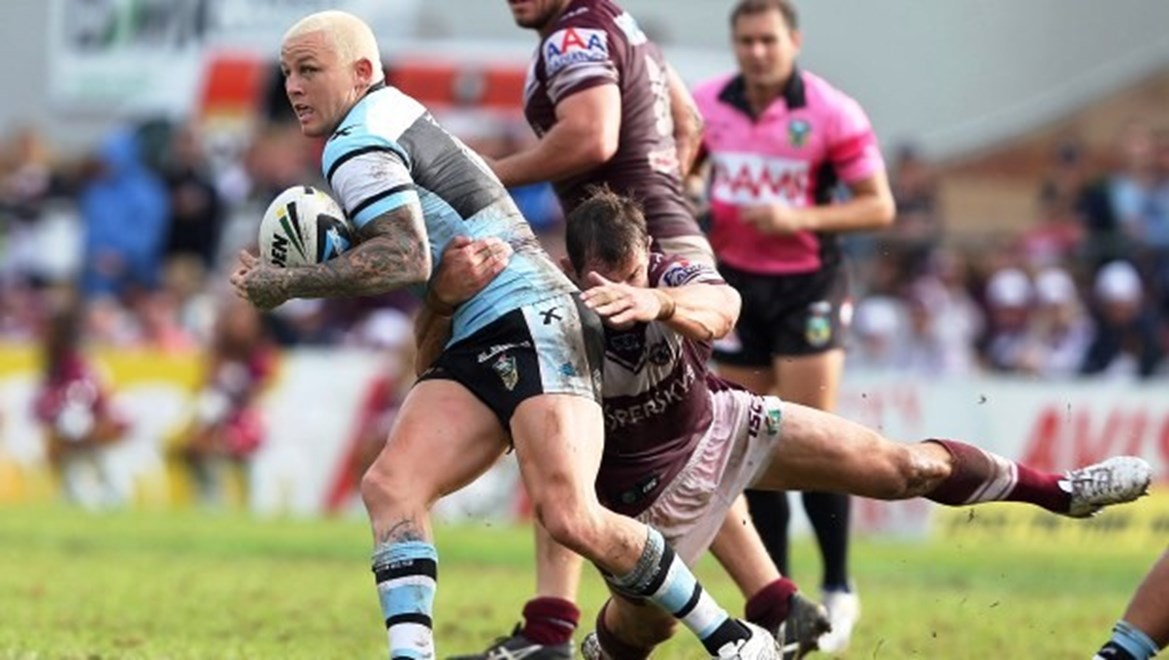 Digital Image by Robb Cox ©nrlphotos.com: Todd Carney :NRL Rugby League - Round 6; Manly-Warringah Sea Eagles V Cronulla-Sutherland Sharks at Brookvale Oval