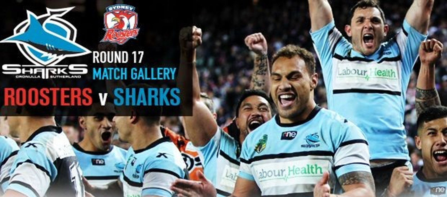 Roosters v Sharks, Allianz Stadium