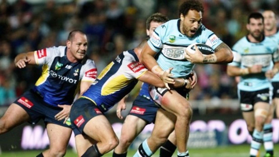 Sam Tagataese on the charge:	NRL Rugby League