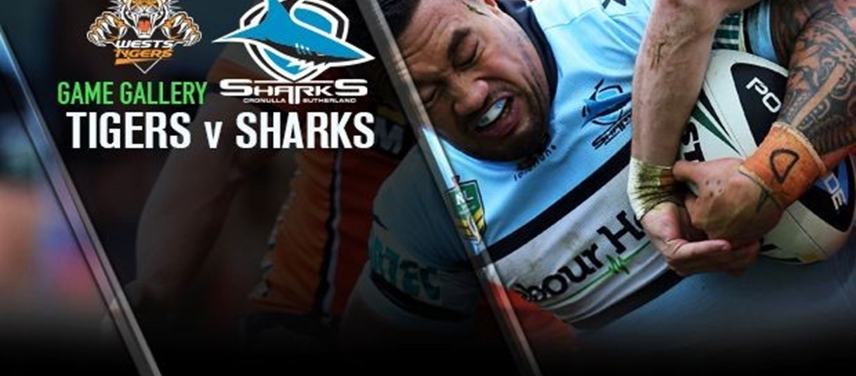 Match Gallery - Tigers v Sharks Rd26
