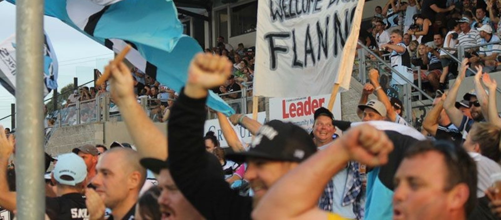 Monster Fan Photo Gallery - Rnd 1 - Sharks vs Raiders