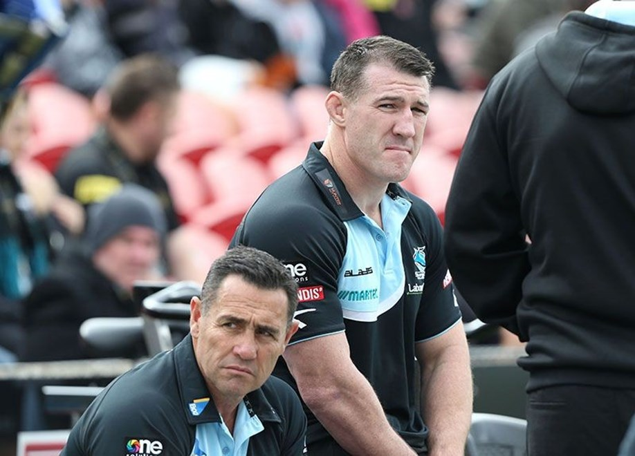 Digital Image by Anthony Johnson copyright © nrlphotos.com: Paul Gallen : 2015 NYC  Round 8 - Penrith Panthers vs Cronulla Sharks at Pepper Stadium, Sunday April 26th 2015