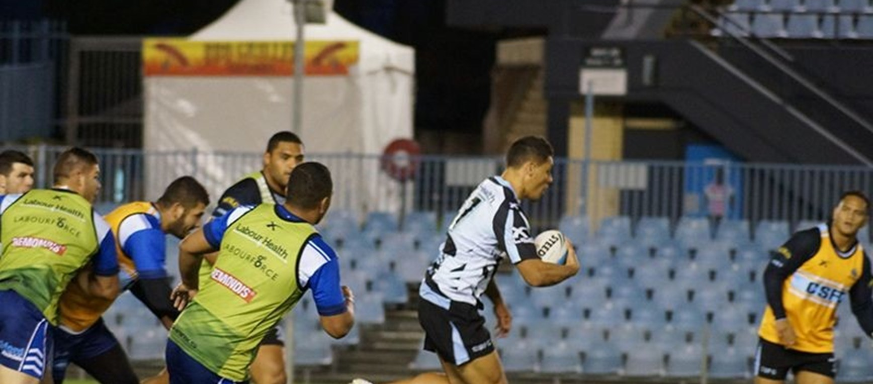 PHOTO GALLERY | Sharks step up preparations