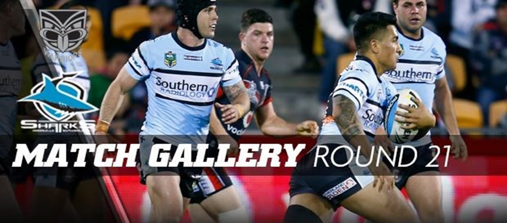 Rd21 MATCH GALLERY | Sharks in action