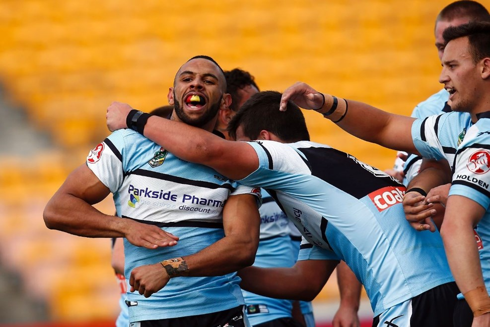 :           NYC Holden Cup Rugby League, Round 21, NZ Warriors v Cronulla Sharks at Mt Smart, Saturday 1st August 2015. Digital image by Shane Wenzlick, copyright nrlphotos.com