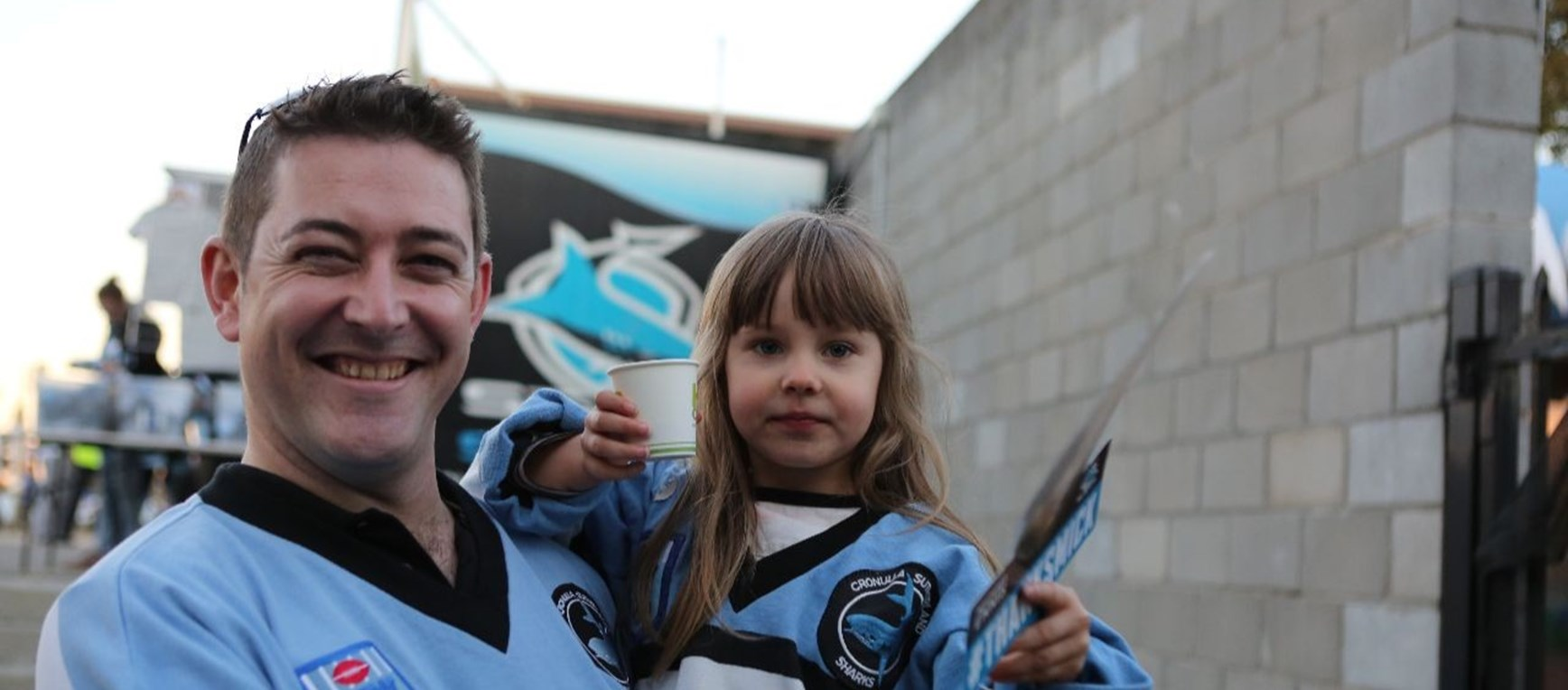Feros Group Fan Gallery: Sharks v Roosters