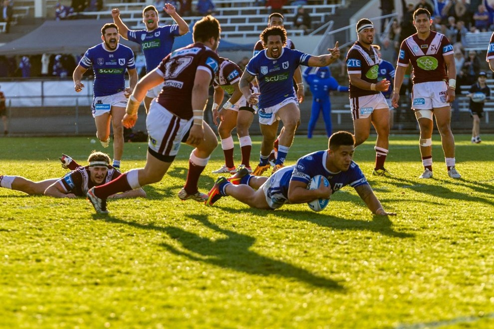 For the second week in a row, the Newtown Jets snached victory from the jaws of  defeat with a thrilling 40-38 win over the Manly Warringah Sea Eagles.