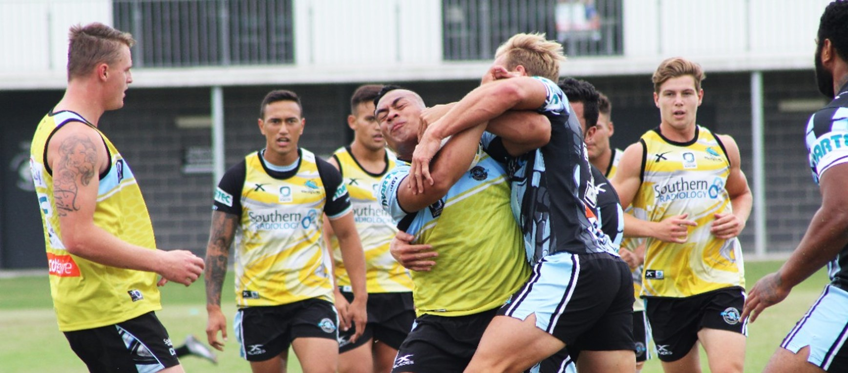 Sharks have final hit-out before Christmas break