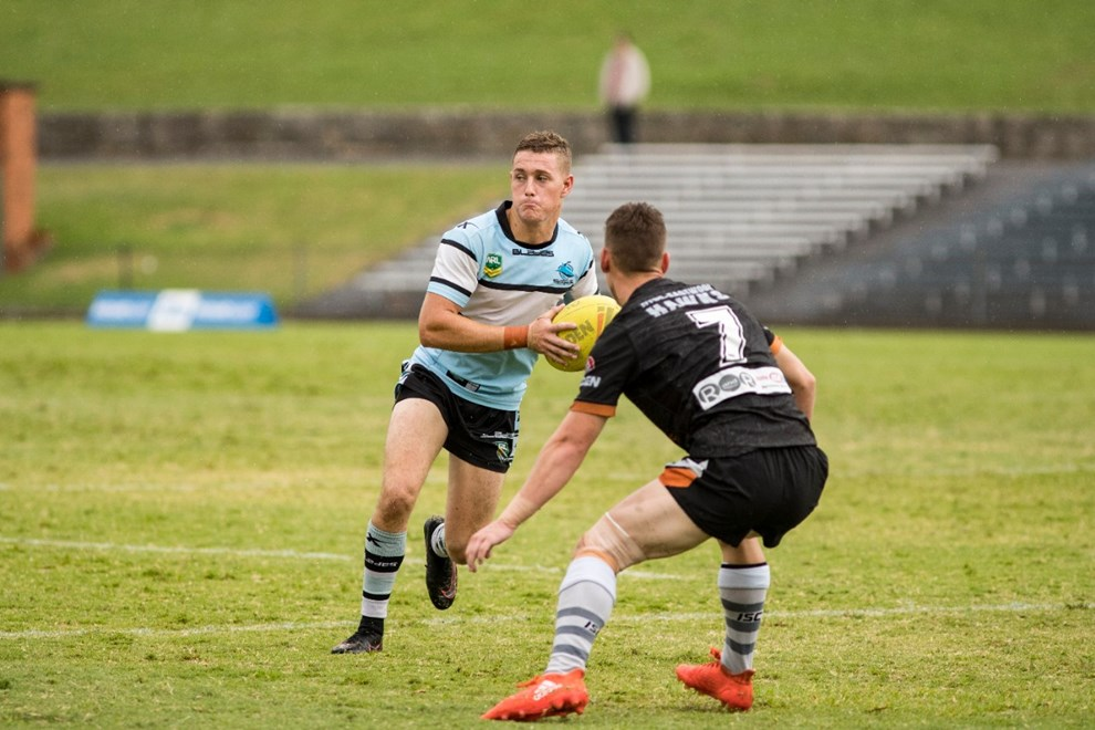 The Cronulla Sharks and the Wests Tigers NYC teams faced each other at Henson Park with the Sharks coming out resounding winners 52 - 4