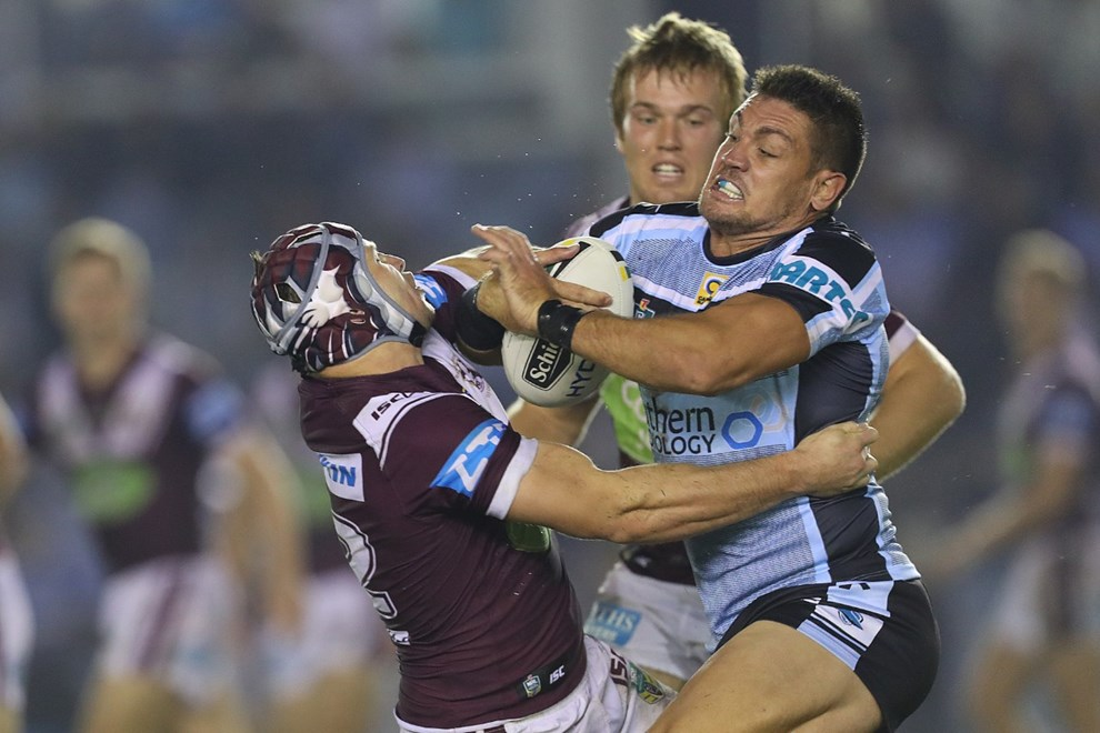 Competition - NRL Premiership Round. Round - Round 11. Teams - Cronulla Sharks v Manly Sea Eagles. Date - 21st of May 2016. Venue - Southern Cross Group Stadium