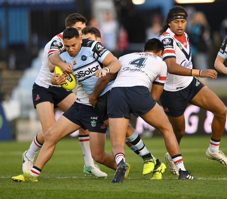 R25 NYC Holden Cup Cronulla Sharks vs Sydney Roosters at Southern Cross Group Stadium. Picture : NRL Photos/Gregg Porteous